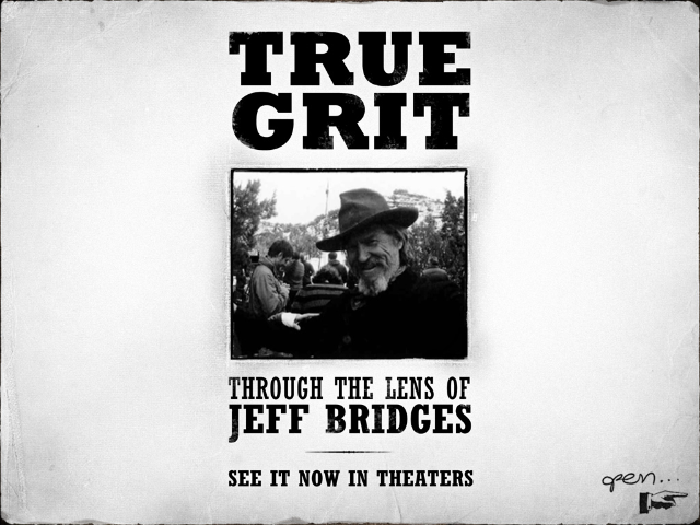 Cover of Jeff Bridges True Grit album for the iPad