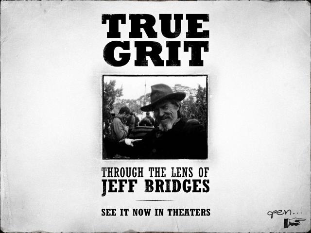 Cover of Jeff Bridges True Grit album for the iPad