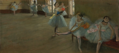 Edgar Degas: Dancers in a Classroom
